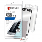 Displex Real Glass 10H Protector 3D Full Cover for Samsung Galaxy S7 Edge (black)