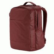 Incase City Backpack - елегантна и стилна раница за MacBook Pro 15, 17 инча и лаптопи до 17 инча (тъмночервен) 2