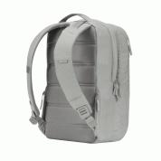 Incase City Diamond Ripstop Backpack - елегантна и стилна раница за MacBook Pro 15, 17 инча и лаптопи до 17 инча (сив) 6
