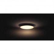 Philips Cher Hue Ceiling Lamp - комплект таванна лампа с бяла светлина и ключ за димиране за безжично управляемо осветление за iOS и Android устройства (черен) 3