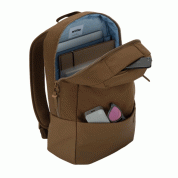 Incase Compass Backpack - елегантна и стилна раница за MacBook Pro 15 и лаптопи до 15 инча (кафяв) 8