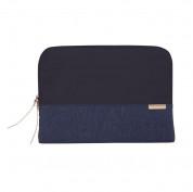 STM Grace Sleeve - дизайнерски неопренов калъф за MacBook Pro 15 и лаптопи до 15 инча (тъмносин) 3