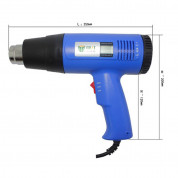 Best Hot Air Heat Gun 1600W BST-8016 with Digital Display Handhold and Temperature Adjustable Hot Air Blower  6