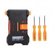 Jakemy JM-Z13 Repair Holder - държач за ремонтиране на смартфони до 5.5 инча (черен-оранжев) 3