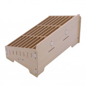 Multifunctional Mobile Phone Repair Tool Box Wooden Storage Box (48 slots) 3