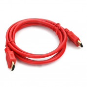 Omega HDMI Cable (1.5 meters) (red)