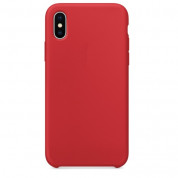SDesign Silicone Original Case for iPhone XS, iPhone X (red)
