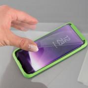 4smarts Second Glass Curved Easy-Assist - калено стъклено покритие с рамка за поставяне за Samsung Galaxy S8 (прозрачен-черен) 1