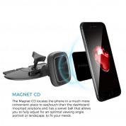Prodigee Handsfree CD Magnet Mount - универсална магнитна поставка за CD слота на кола за смартфони  1