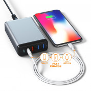 Satechi 75W Multiport Travel Charger (grey) 4