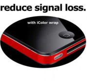 iColorWrap cover skin for iPhone 4 antenna (colors)