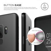 Elago Origin Case - тънък полипропиленов кейс (0.3 mm) за Samsung Galaxy S9 (черен) 4