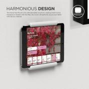 Elago Home Hub Mount - силиконова поставка, прикрепяща се към стената за iPad Pro, iPad Air, iPad и iPad mini (бяла) 1