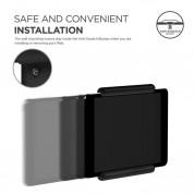 Elago Home Hub Mount - силиконова поставка, прикрепяща се към стената за iPad Pro, iPad Air, iPad и iPad mini (черна) 6