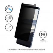 Eiger Privacy 3D Tempered Glass - калено стъклено защитно покритие с извити ръбове и определен ъгъл на виждане за целия дисплея на Samsung Galaxy S9 2