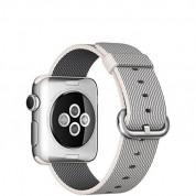 Apple Pearl Band - оригинална текстилна каишка за Apple Watch 38мм, 40мм (сив) (reconditioned) (Apple Box) 4