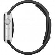 Apple Sport Band S/M & M/L - оригинална силиконова каишка за Apple Watch 38мм, 40мм (черен) (reconditioned) (Apple Box) 4