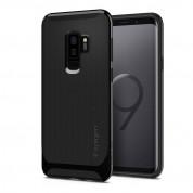 Spigen Neo Hybrid Case - хибриден кейс с висока степен на защита за Samsung Galaxy S9 Plus (черен)