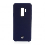 Mercedes-Benz Liquid Silicone Case for Samsung Galaxy S9 Plus (navy)
