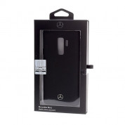 Mercedes-Benz Liquid Silicone Case for Samsung Galaxy S9 Plus (black) 2
