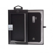 Mercedes-Benz Liquid Silicone Case for Samsung Galaxy S9 Plus (black) 3