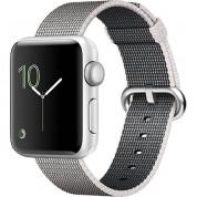 Apple Pearl Band - оригинална текстилна каишка за Apple Watch 42мм, 44мм (сив) (Apple Box)