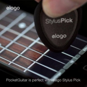 Elago Multi-use Stylus Guitar Pick with micro-fiber pad for iPhone, iPod, iPad and Galaxy Tab 2