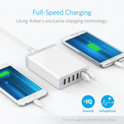 Anker PowerPort 6 Ports with PowerIQ and VoltageBoost  (white) 1