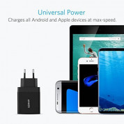 Anker PowerPort+ 1 18W Quick Charge 3.0 USB Charger with PowerIQ (black) 4