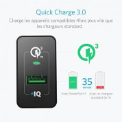 Anker PowerPort+ 1 18W Quick Charge 3.0 USB Charger with PowerIQ (black) 1