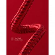 Anker Powerline+ II Lightning Lightning cable 1.8m - сертифициран Lightning кабел за iPhone, iPad и iPod с Lightning (1.8 м) (червен) 3