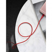 Anker Powerline+ II Lightning Lightning cable 1.8m - сертифициран Lightning кабел за iPhone, iPad и iPod с Lightning (1.8 м) (червен) 6