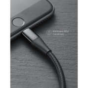 Anker Powerline+ II Lightning Lightning cable 0.9m - сертифициран Lightning кабел за iPhone, iPad и iPod с Lightning (0.9м) (черен) 4