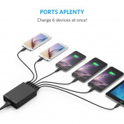 Anker PowerPort 6 Ports 30W with PowerIQ and VoltageBoost (black) 3