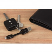 Kit Keyring Lightning Cable (black) 2