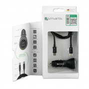4smarts Fast Car Charger Set iPD for devcies with USB-C port (black) 8