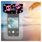 4smarts Copacabana Waterproof Case Pirate for smartphones up to 6 in. (pink) 2