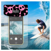 4smarts Copacabana Waterproof Case Pirate for smartphones up to 6 in. (pink) 3