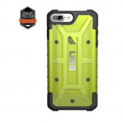 Urban Armor Gear Plasma - удароустойчив хибриден кейс за iPhone 8 Plus, iPhone 7 Plus, iPhone 6S Plus, iPhone 6 Plus (зелен) 2