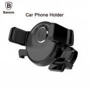 Baseus Mechanical Era Air Vent Universal Car Mount - поставка за радиатора на кола за смартфони с ширина до 8.4 см. (черна) 1