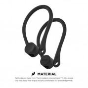 Elago AirPods EarHooks - силиконови кукички за Apple AirPods (черен) 2