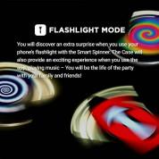 Elago Smart Spinner Case Noel - поликарбонатов кейс (спинър) за iPhone 8, iPhone 7 2