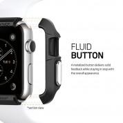 Spigen Rugged Armor Case - удароустойчив TPU кейс за Apple Watch 38mm. (черен) 4