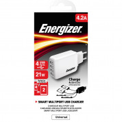 Energizer Multi Port 4 USB Wall Charger 4