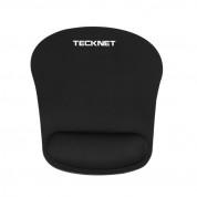 TeckNet G105 Office Mouse Pad - ергономична подложка за мишка с накитник (черен) 3