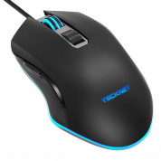 TeckNet GM269-V2 Wired Programmable Gaming Mouse - Black