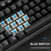 TeckNet X705 LED Illuminated Gaming Keyboard - геймърска клавиатура с LED подсветка (за PC) 5