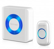 TeckNet WA678-White Plug-In Wireless Doorbell - White - EU 2