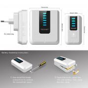 TeckNet WA838 Plug-In Wireless Doorbell - комплект 2 броя иновативни безжични звънци и предавател за входна врата (бял) 1