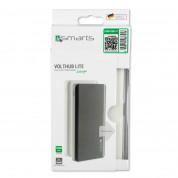 4smarts Power Bank VoltHub Lite 10000 mAh - външна батерия с два USB и USB-C изходи (бял) 3
